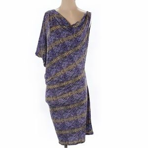 Gorgeous, asymmetrical, BCBG MAXAZRIA dress